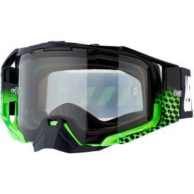 Leatt Velocity 6.5 Anti Fog Goggles, negro/verde